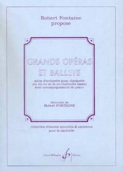 Grands opéras et Ballets Robert Fontaine Partition laflutedepan