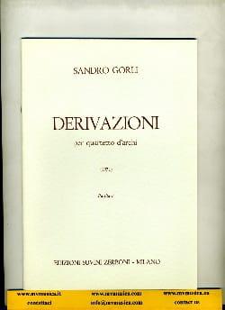 Derivazioni Sandro Gorli Partition Grand format - laflutedepan