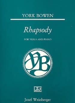 Rhapsody Edwin York Bowen Partition Alto - laflutedepan