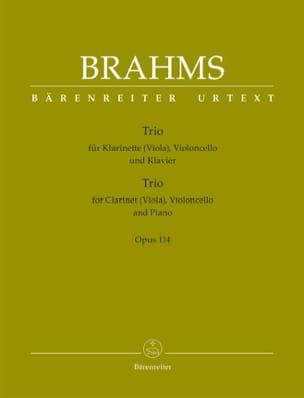 Trio Pour Clarinette, Violoncelle et Piano Opus 114 laflutedepan