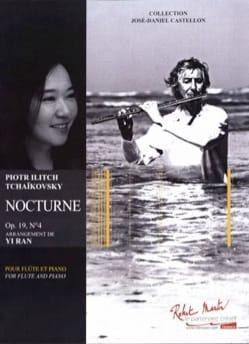 Nocturne, opus 19 n° 4 - Flûte et piano TCHAIKOVSKY laflutedepan