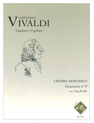 L'Estro Armonico - Concerto n°9, RV 230 VIVALDI Partition laflutedepan