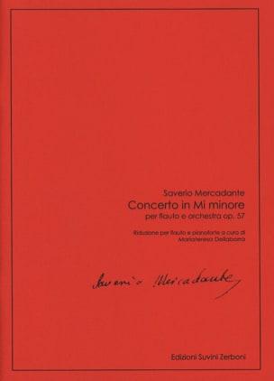 Concerto en mi mineur - Flûte et Piano Saverio Mercadante laflutedepan
