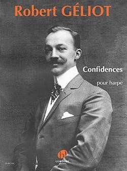 Confidences - Robert Géliot - Partition - Harpe - laflutedepan.com