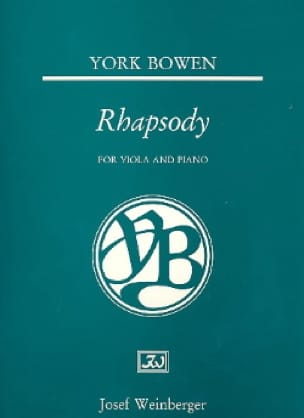 Rhapsody - Edwin York Bowen - Partition - Alto - laflutedepan.com