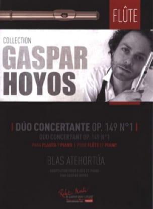 Duo Concertant, op. 149 n° 1 - Blas Atehortua - laflutedepan.com