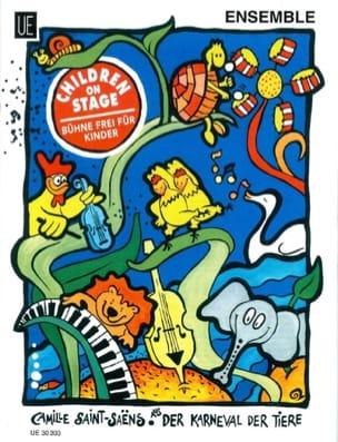 Der Karneval der Tiere - Ensemble SAINT-SAËNS Partition laflutedepan