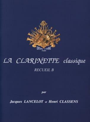La Clarinette Classique Volume B Jacques Lancelot laflutedepan