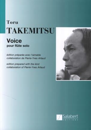 Voice TAKEMITSU Partition Flûte traversière - laflutedepan