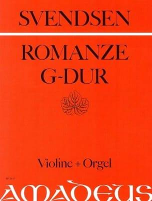 Romanze op. 26 in G-Dur Johan Severin Svendsen Partition laflutedepan