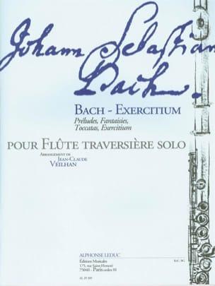 Bach-Exercitium BACH Partition Flûte traversière - laflutedepan