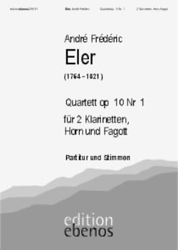 Quartett op. 10 Nr. 1 -2 Klarinetten Horn Fagott laflutedepan