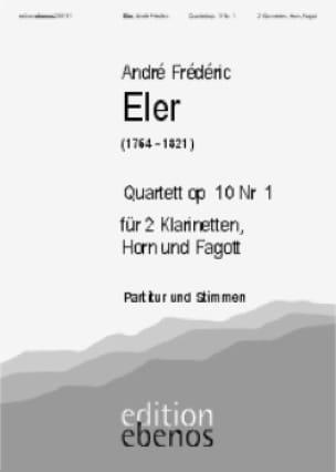 Quartett op. 10 Nr. 1 -2 Klarinetten Horn Fagott - laflutedepan.com
