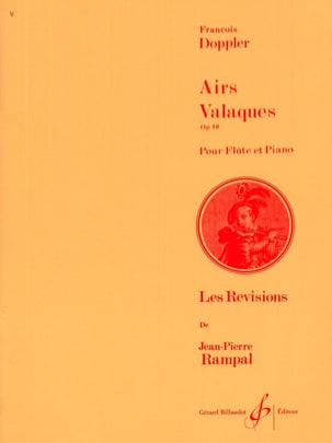Airs valaques op. 10 Franz Doppler Partition laflutedepan