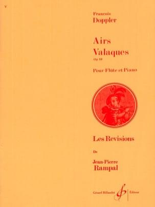 Airs valaques op. 10 Franz Doppler Partition laflutedepan