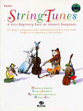String Tunes - Violoncelle Samuel Applebaum Partition laflutedepan
