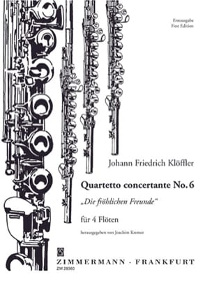 Quartetto concertante n° 6 - 4 Flöten laflutedepan