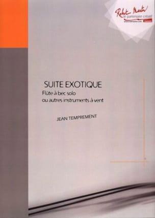 Suite Exotique - Fl. A Bec Soprano Jean Temprement laflutedepan