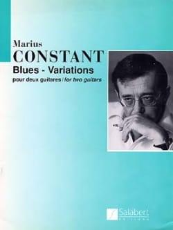 Blues - Variations - Marius Constant - Partition - laflutedepan.com