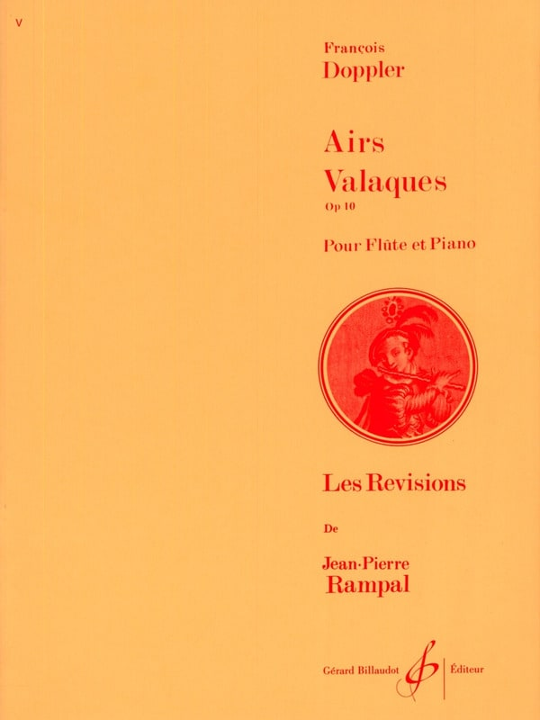 Airs valaques op. 10 - Franz Doppler - Partition - laflutedepan.com