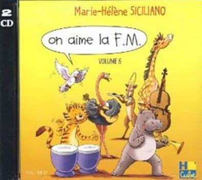 CD - On Aime la FM Volume 6 - SICILIANO - Partition - laflutedepan.com