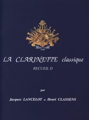 La Clarinette Classique Volume D Lancelot / Classens laflutedepan