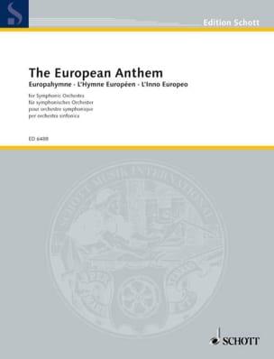 Europahymne Partition Grand format - laflutedepan