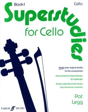 Superstudies, Volume 1 - Cello Pat Legg Partition laflutedepan