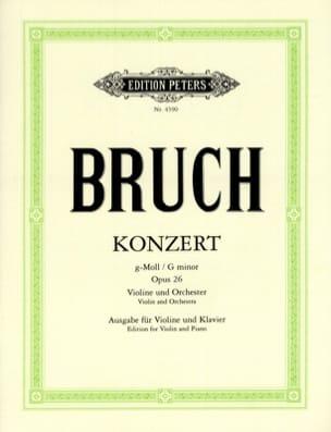 Concerto Pour Violon en Sol Mineur N°1 Op.26 BRUCH laflutedepan