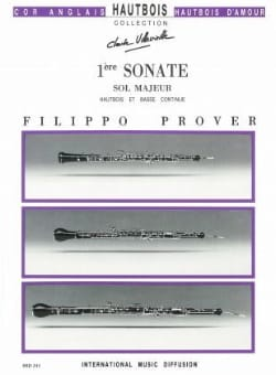 1ère Sonate en sol majeur - Hautbois et basse continue laflutedepan