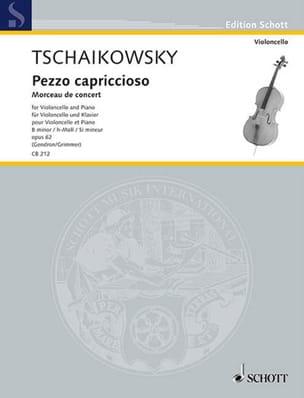Pezzo Capriccioso Op.62 En Si Min. TCHAIKOVSKY Partition laflutedepan