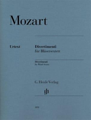 Divertimenti - MOZART - Partition - Sextuors - laflutedepan.com