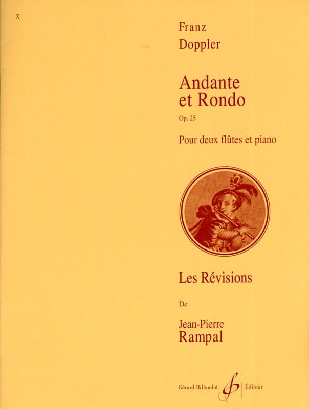 Andante et Rondo op. 25 - Franz Doppler - Partition - laflutedepan.com