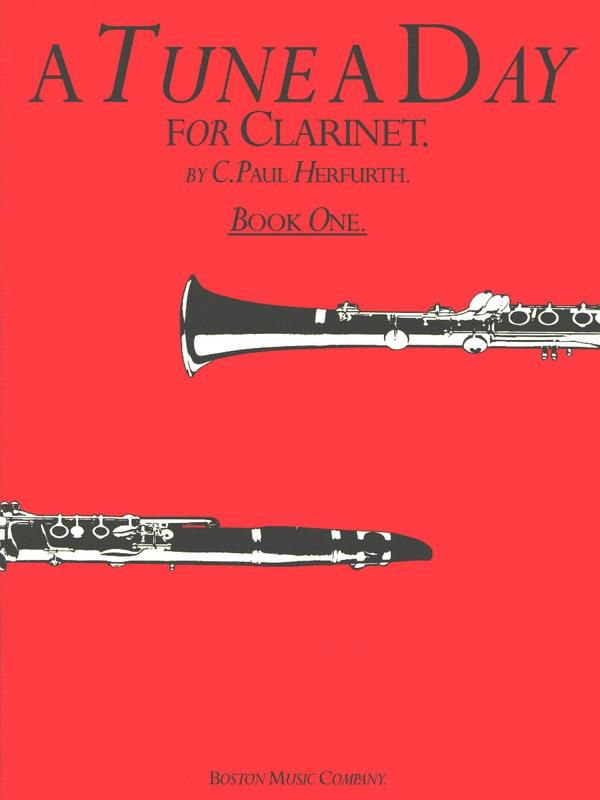 A Tune A Day Volume 1 - Clarinet - C. Paul Herfurth - laflutedepan.com