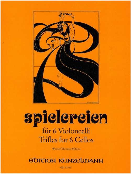 Spielereien - Volume 4 - Werner Thomas-Mifune - laflutedepan.com