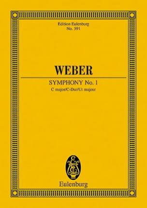 Carl Maria von Weber - Sinfonie Nr. 1 C-Dur - Partition - di-arezzo.co.uk