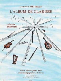 L'Album de Clarisse Charlotte Michelin Partition Alto - laflutedepan