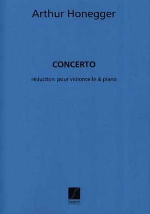 Concerto - Violoncelle et piano HONEGGER Partition laflutedepan