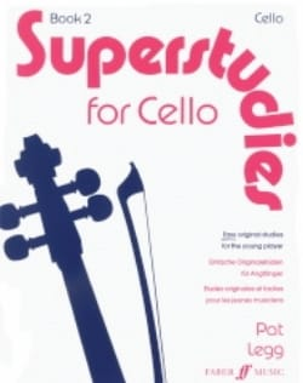 Superstudies, Volume 2 - Cello Pat Legg Partition laflutedepan