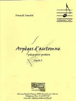 Arpèges d'Automne Franck Coméré Partition Guitare - laflutedepan