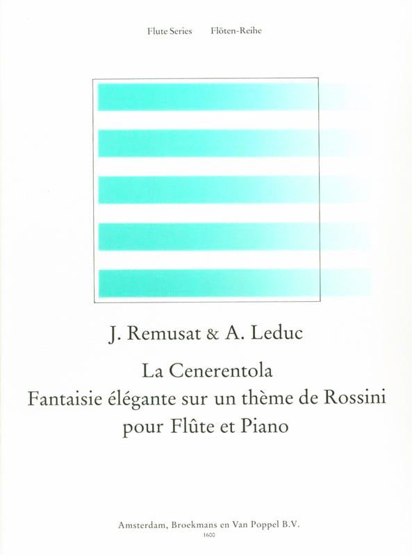 La Cenerentola - Remusat Jean / Leduc Alphonse - laflutedepan.com