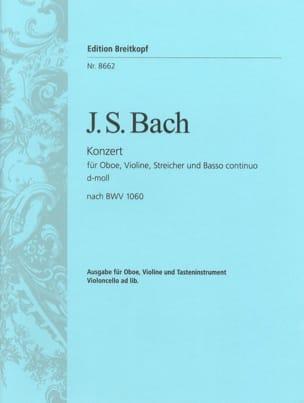 Double Concerto BWV 1060 - Hautbois, Violon, Piano BACH laflutedepan