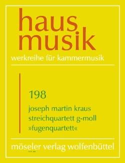 Streichquartett G-Moll Fugen Quartett - laflutedepan.com