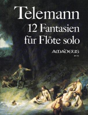 TELEMANN - 12 Fantasies - Partition - di-arezzo.com
