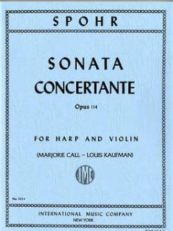 Sonata concertante op. 114 - SPOHR - Partition - 0 - laflutedepan.com