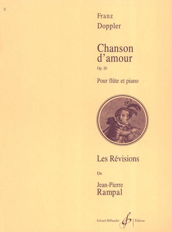 Chanson d'amour op. 20 - Franz Doppler - Partition - laflutedepan.com