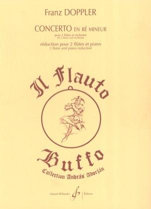 Concerto en ré mineur pour 2 flûtes Franz Doppler laflutedepan