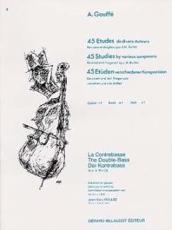45 Etudes de divers auteurs, Volume 1 A. Gouffé laflutedepan