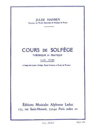 Solfege Theorique et Pratique - Moyen Jules Hansen laflutedepan
