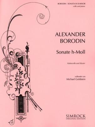 Sonate en Si Mineur BORODINE Partition Violoncelle - laflutedepan